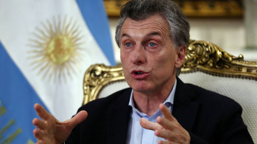 Why Argentina has returned to the IMF — in charts