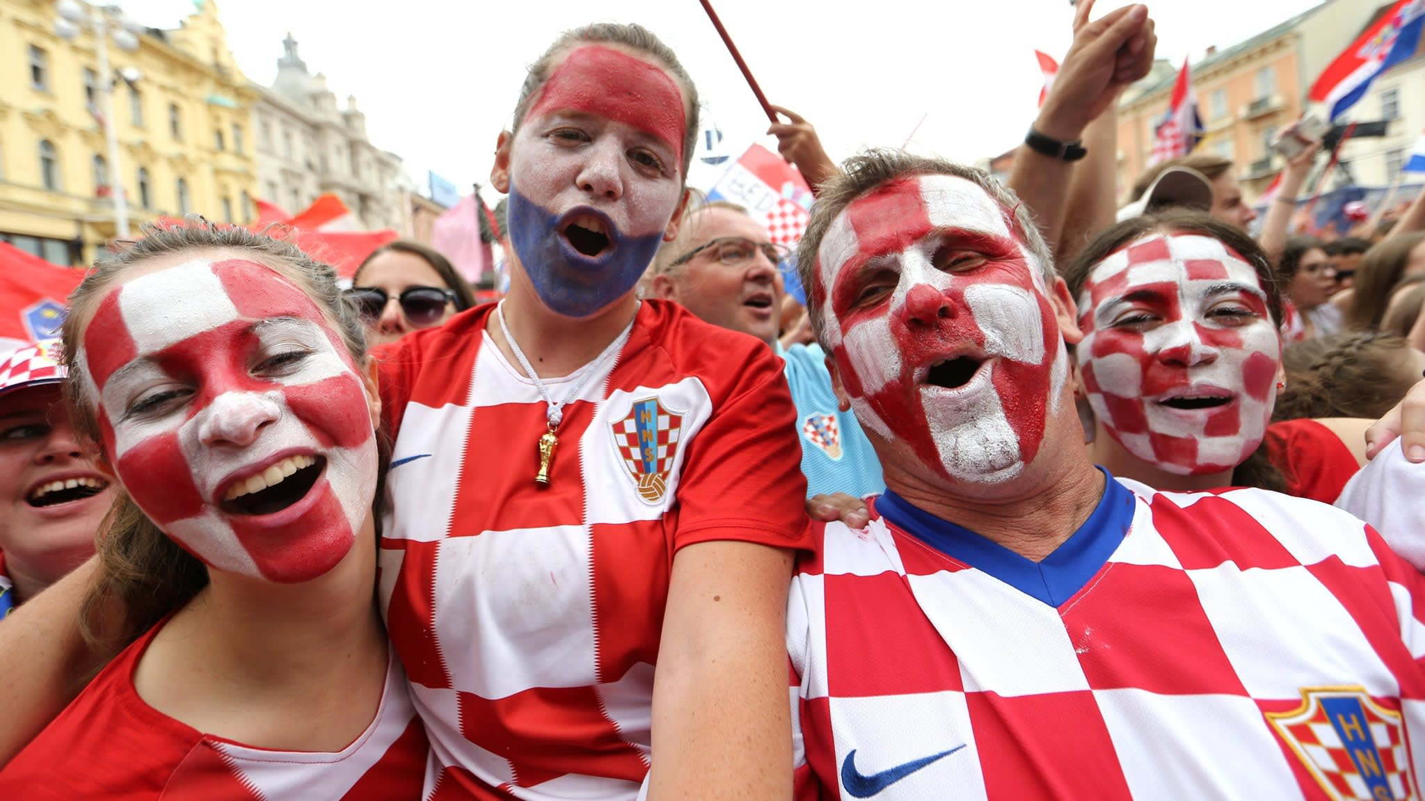 Croatia scores own goal after World Cup success