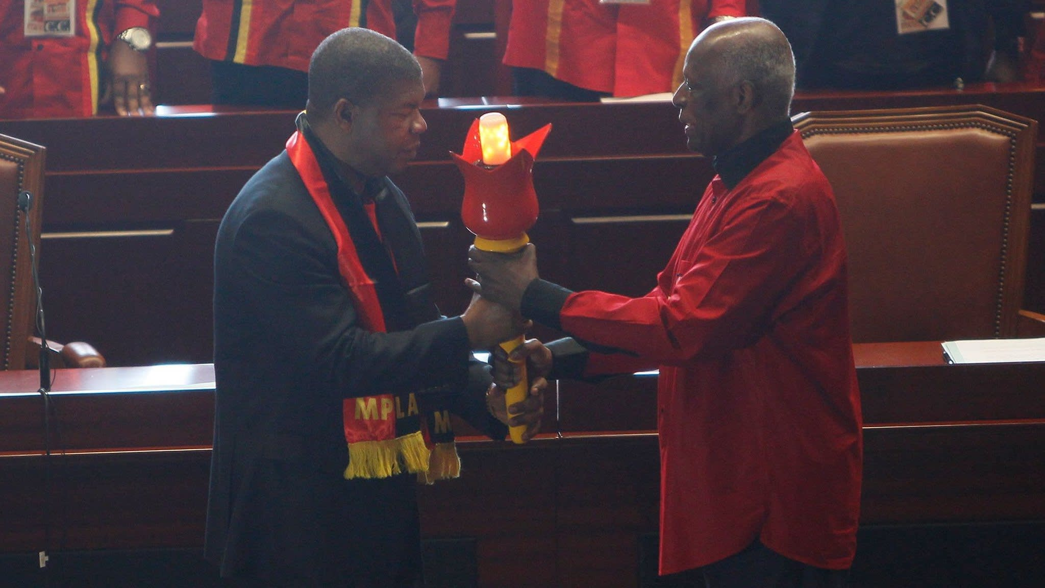 Angola's president tightens his grip on power