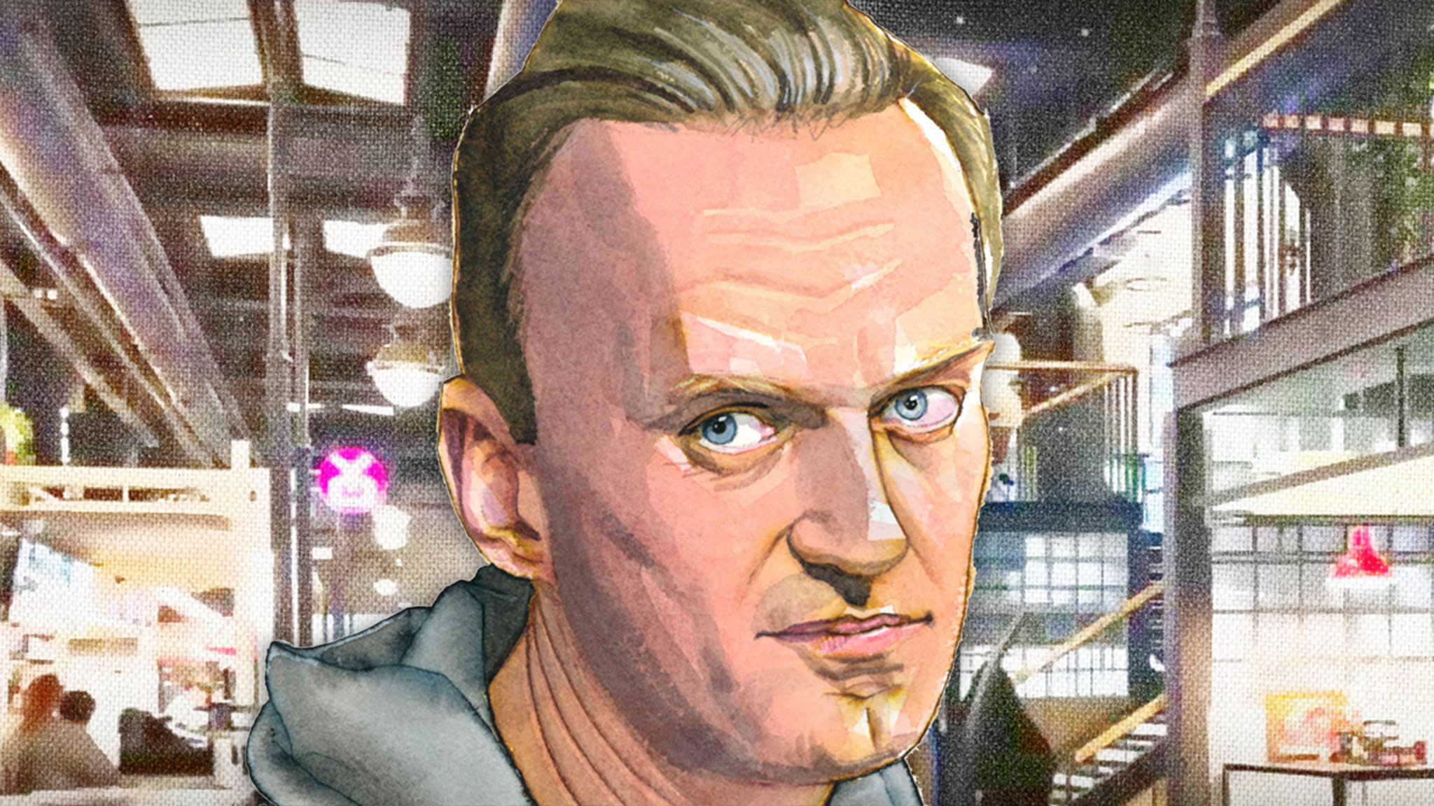 Alexei Navalny Why Don T They Come And Sit In Jail With Me Financial Times
