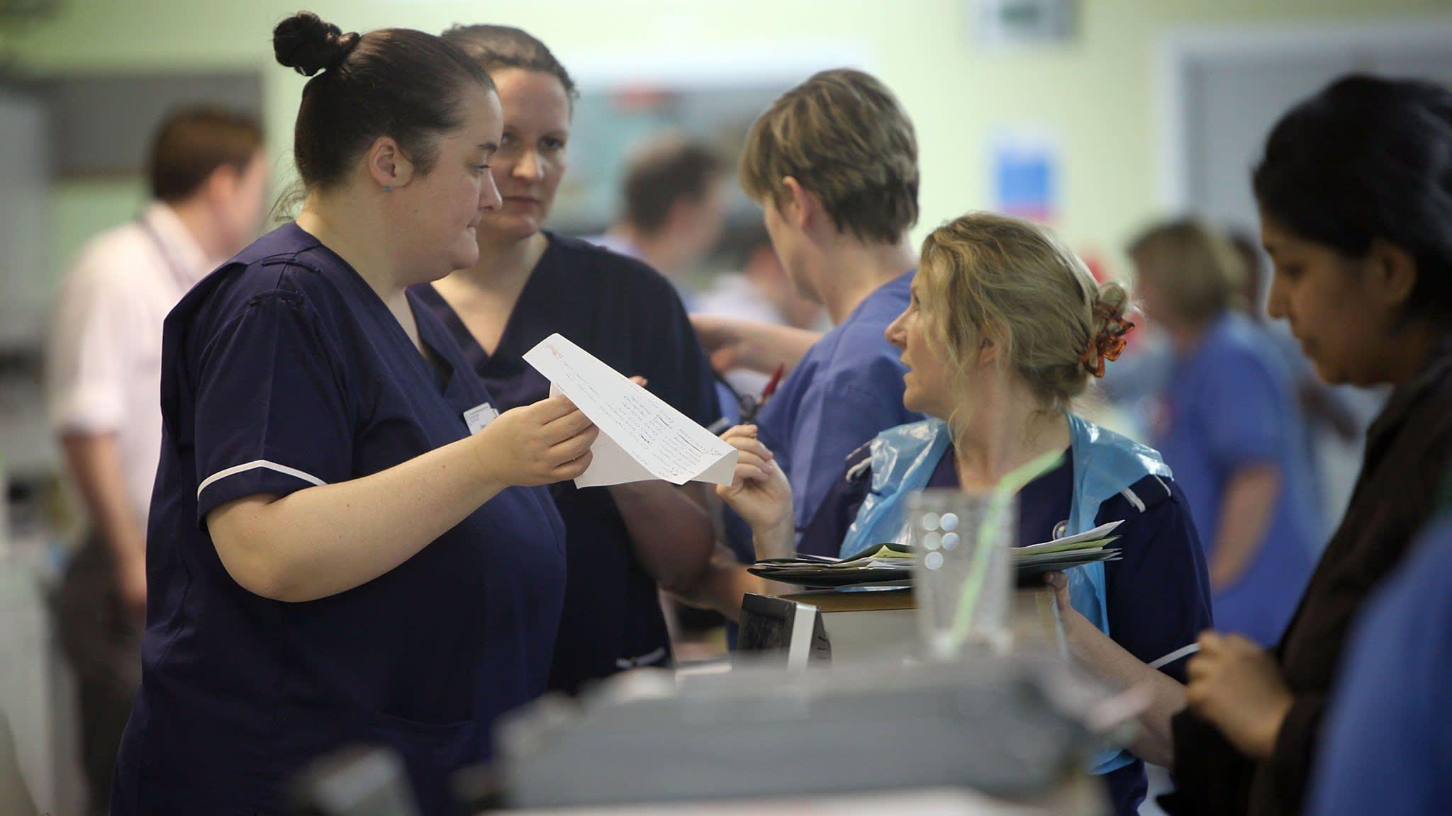 Britain faces nursing shortfall as EU recruits stay away