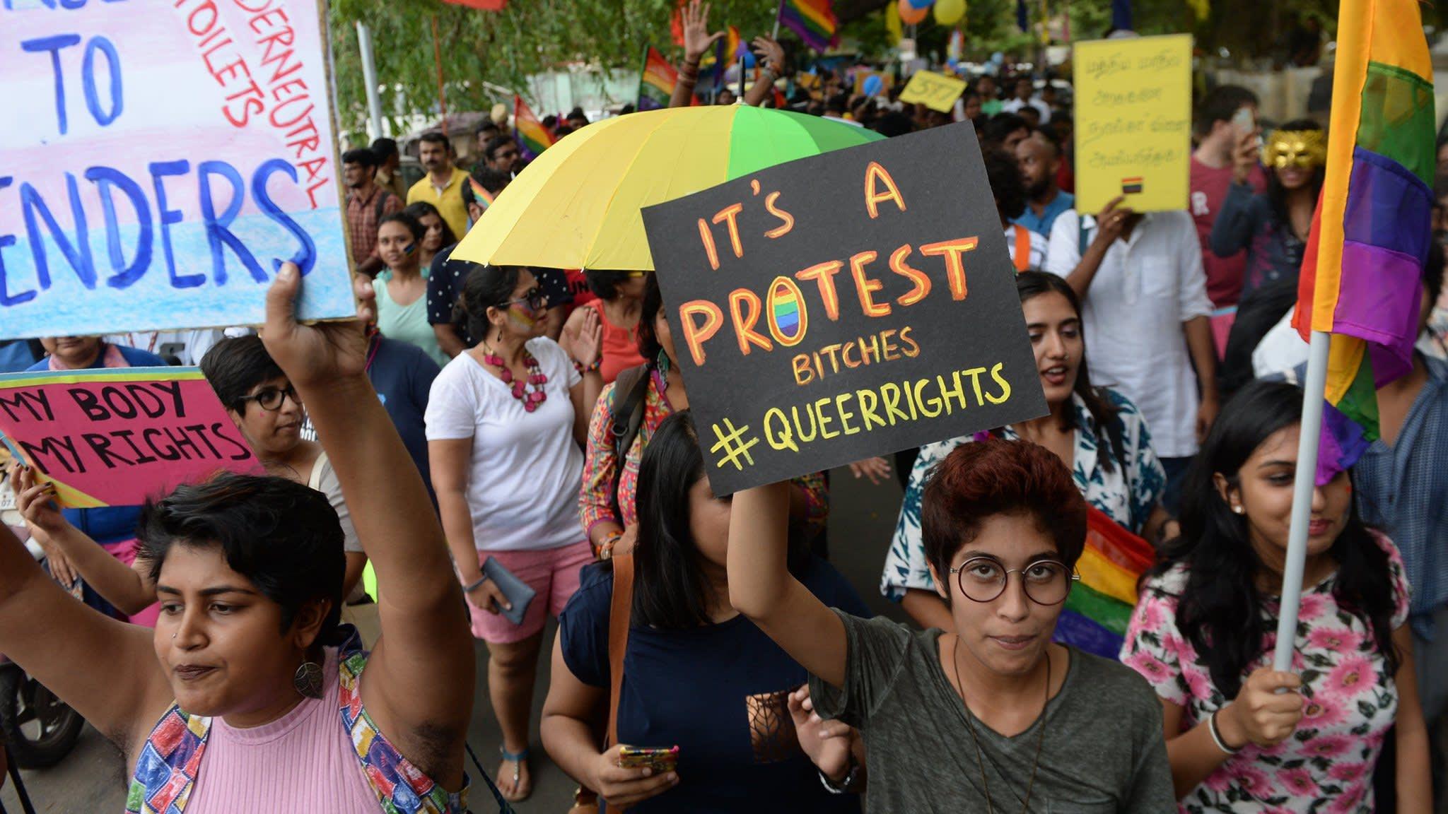 India Supreme Court legalises gay sex