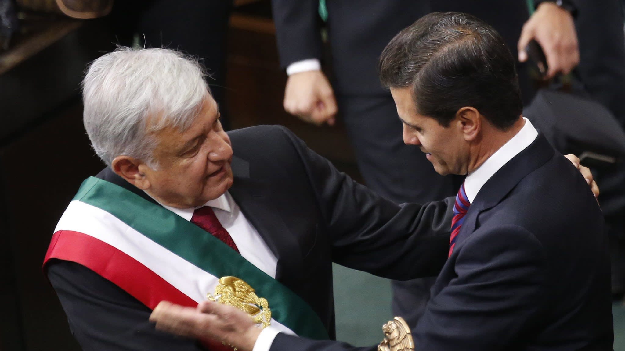Mexico's López Obrador vows to end neo-liberalism in inauguration