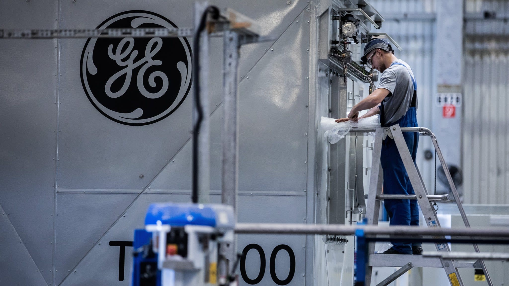 GE plans to restate earnings for past two years
