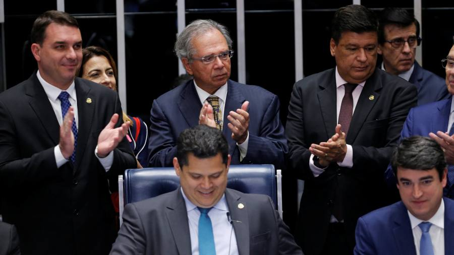 Brazil's much-vaunted pension reform passes into law