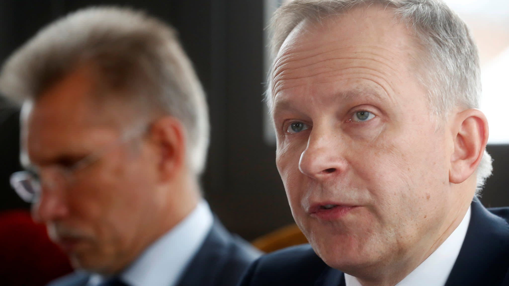 Latvia central bank chief rejects calls to quit over bribery claims
