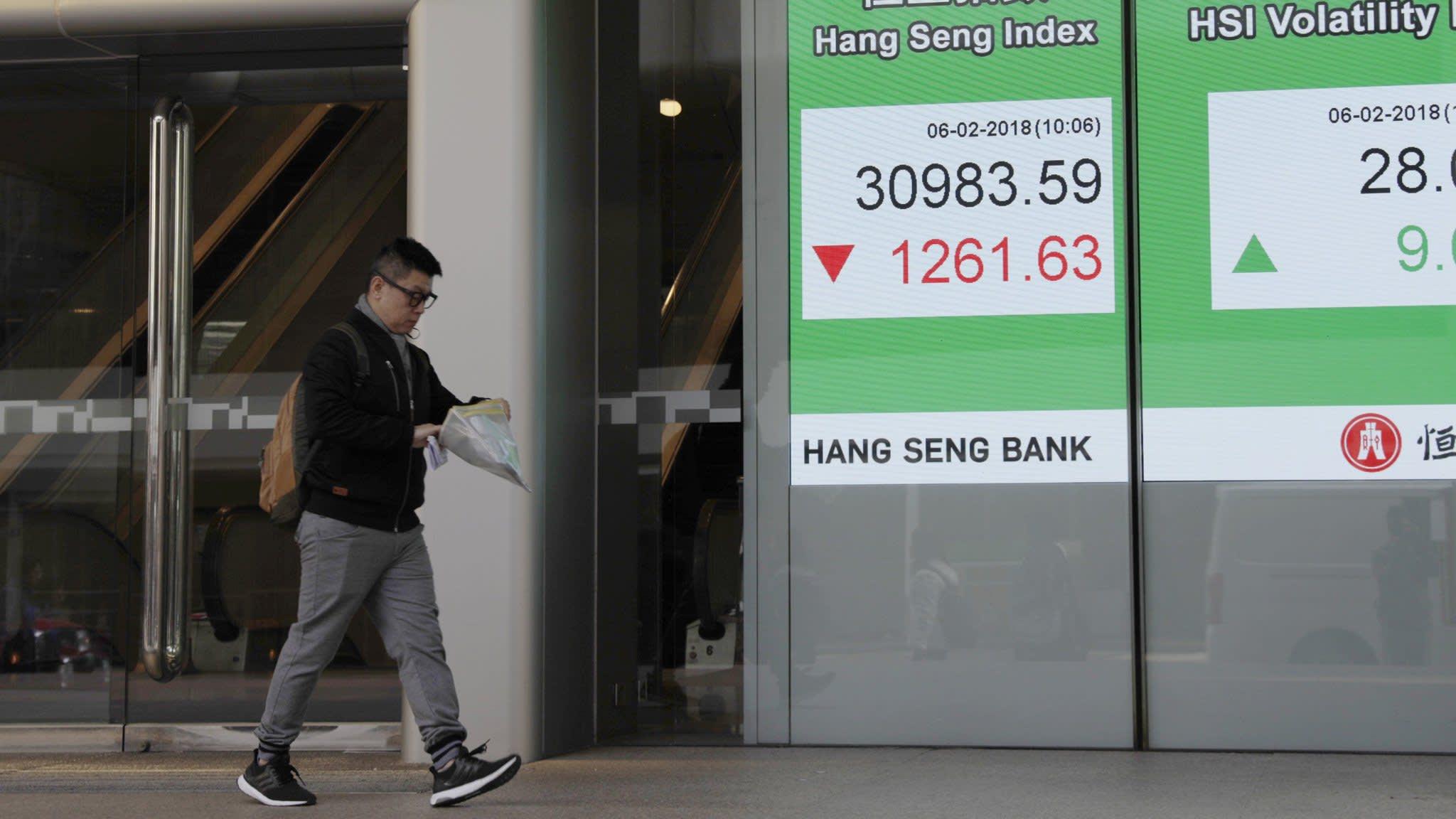 Asian markets track US stocks higher