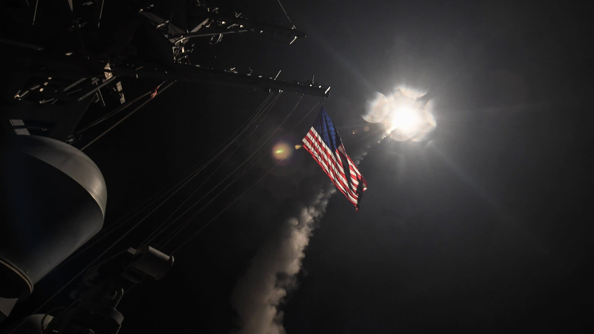 US draws up options for attack on Syria