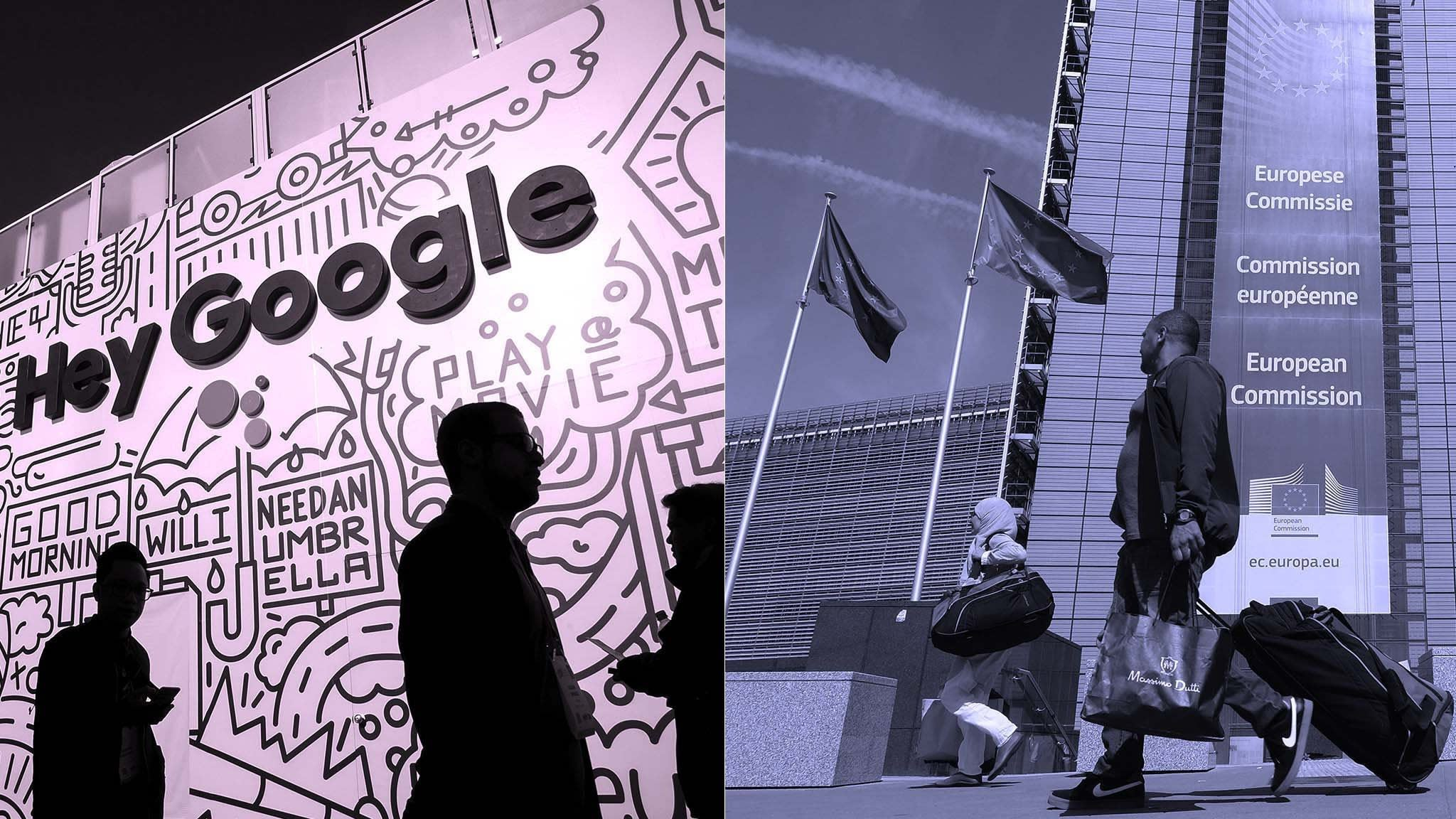 Brussels takes aim at Google's mobile strategy