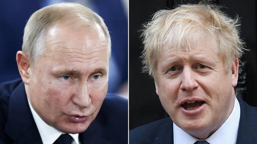 Johnson says 'no evidence' of Russia meddling in UK politics