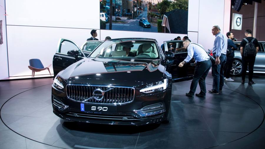 Chinese Owned Volvo To Export Cars From Us To China Financial Times