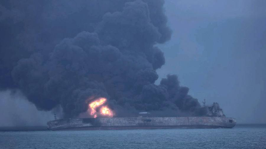Tanker's sinking puts spotlight on role of tracking systems