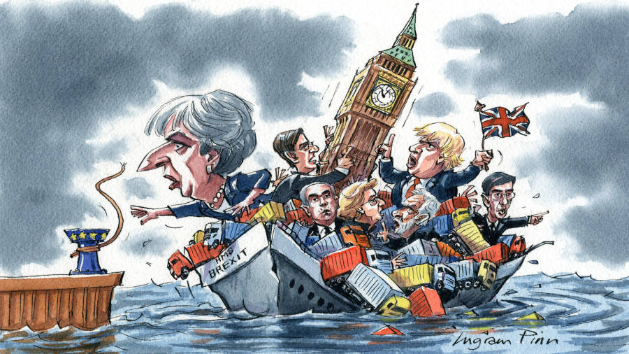 Theresa May has lost control of Brexit