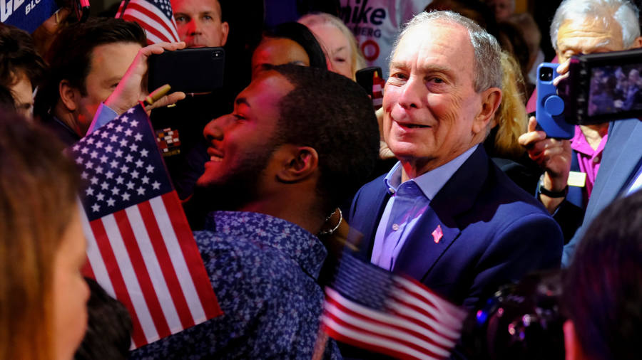 Bloomberg ends White House campaign and backs Biden