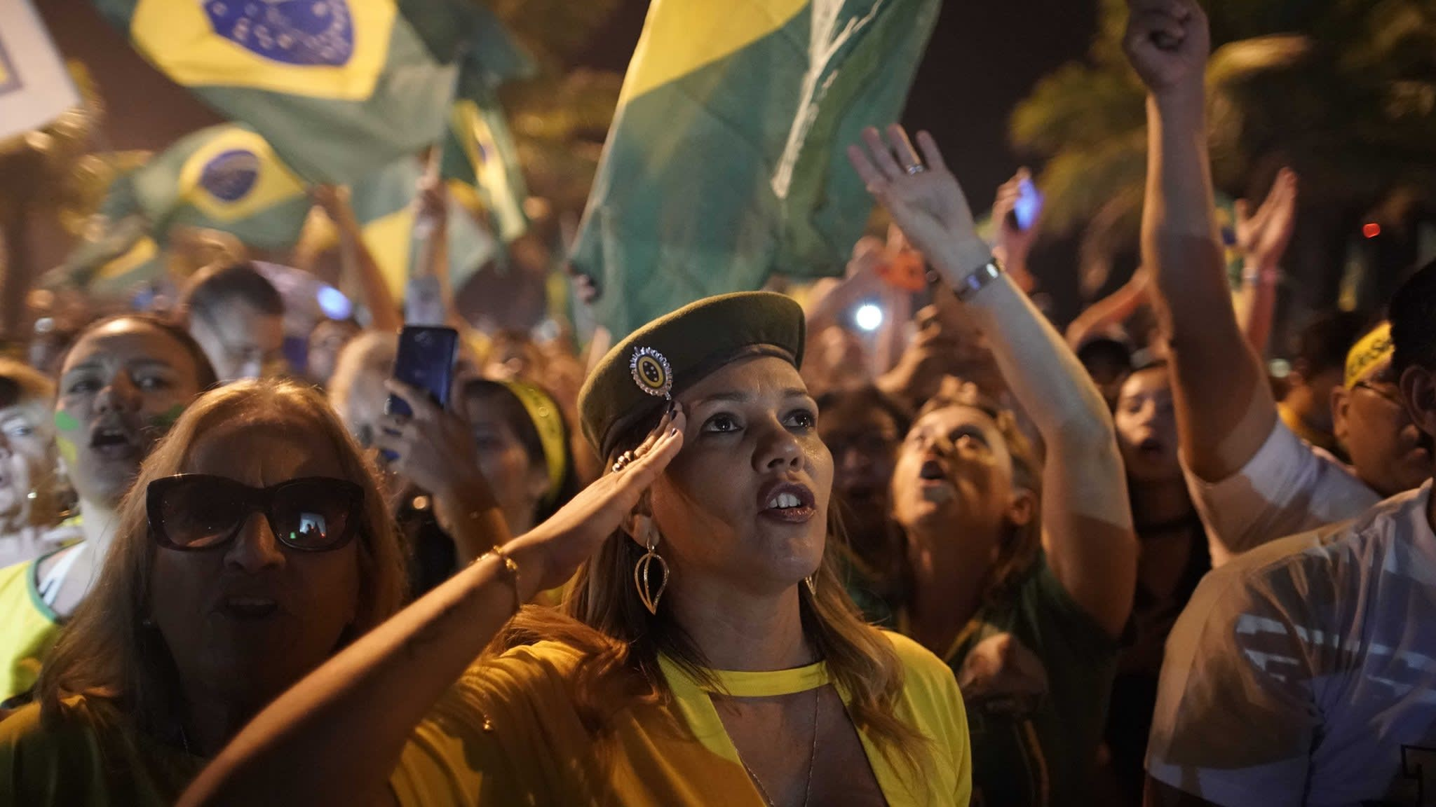 Brazil's generals vow to stay out of politics