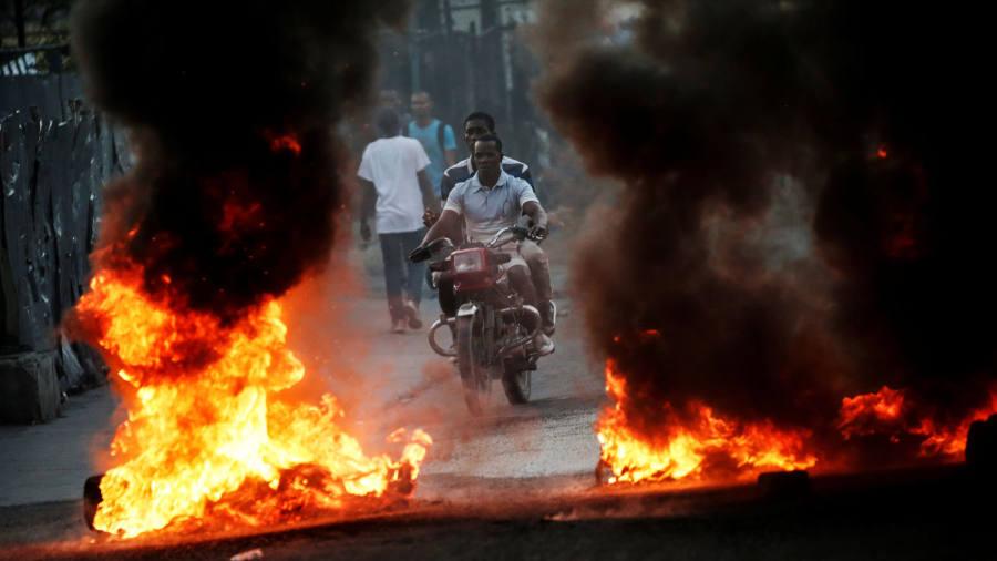 Oil corruption claims lead to calls for Haiti president resignation