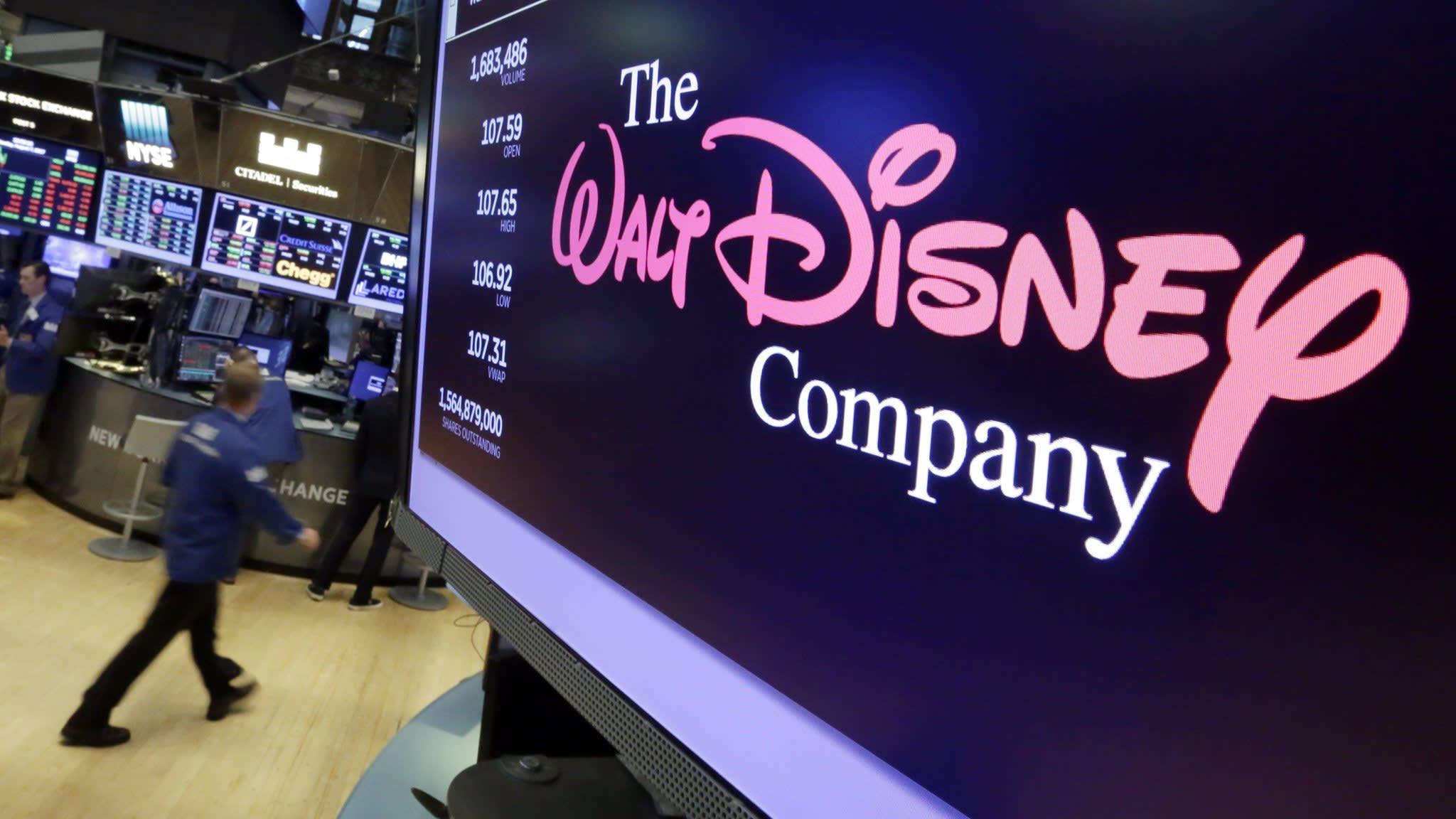 Walt Disney shares slide after earnings miss