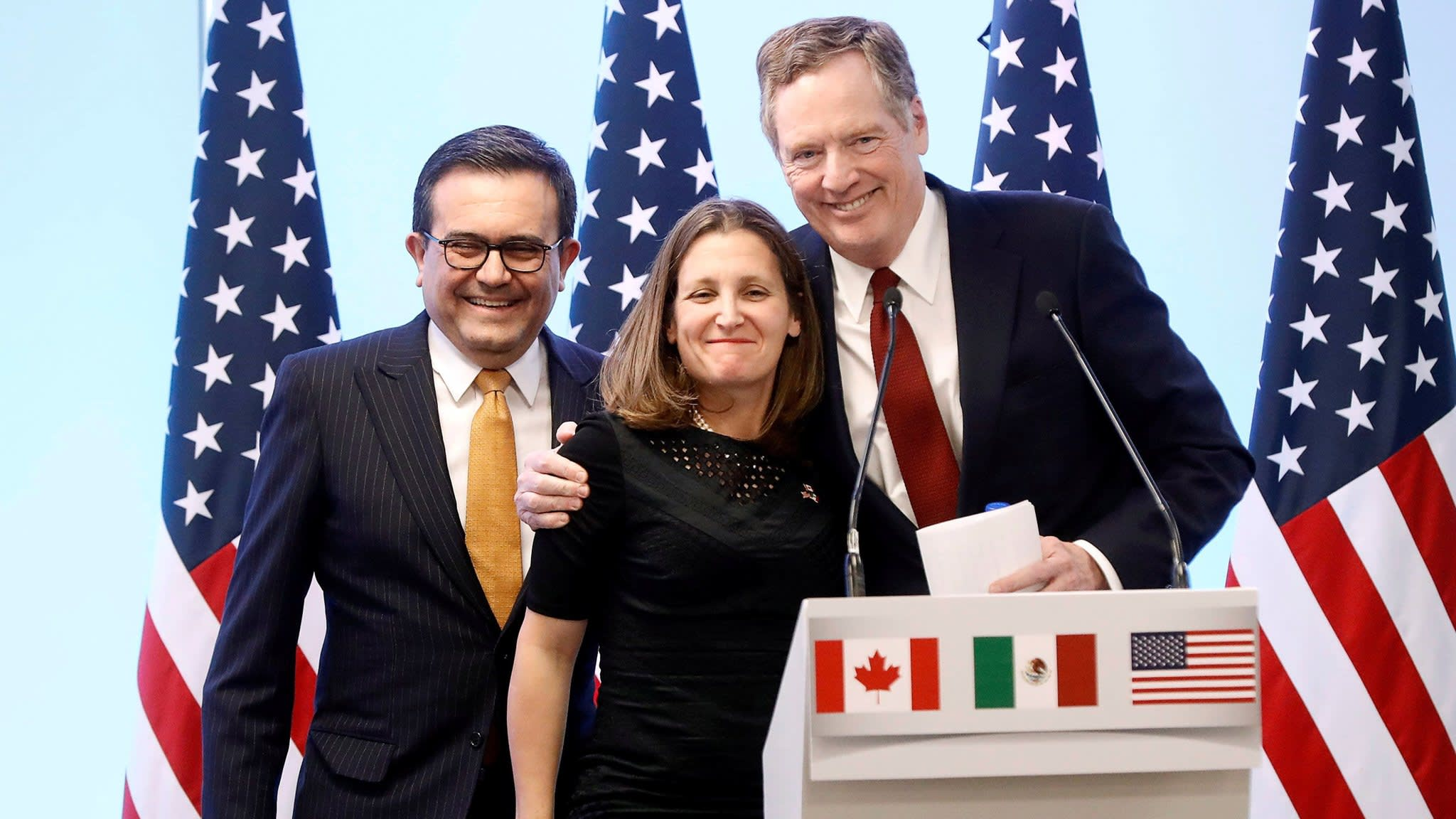 US and Mexico advance trade deal without Canada