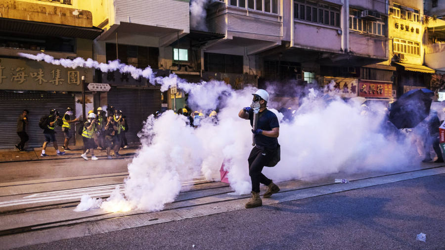 Hong Kong protests: advice for visitors | Financial Times