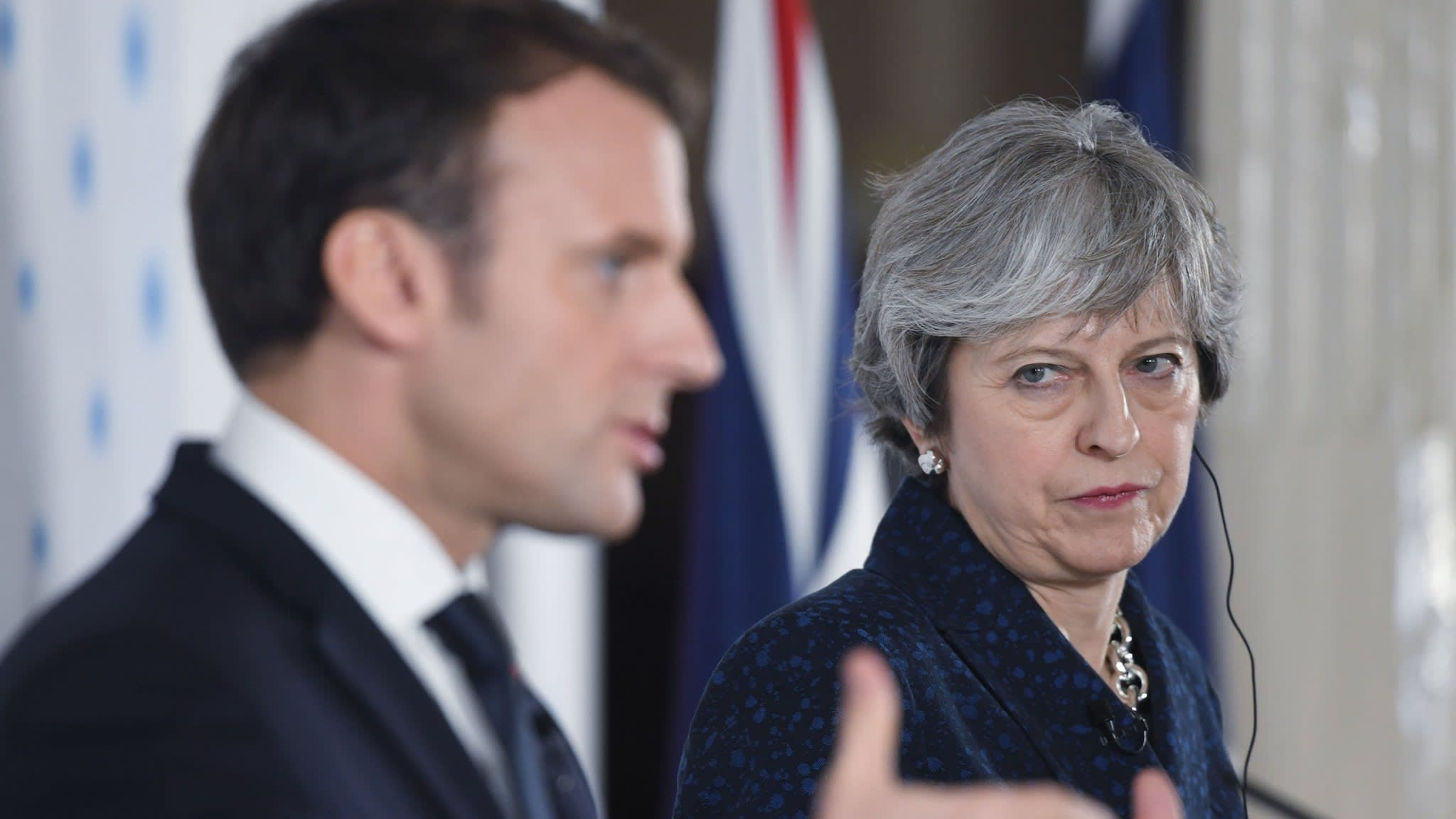 May to meet Macron over France's approach to Brexit