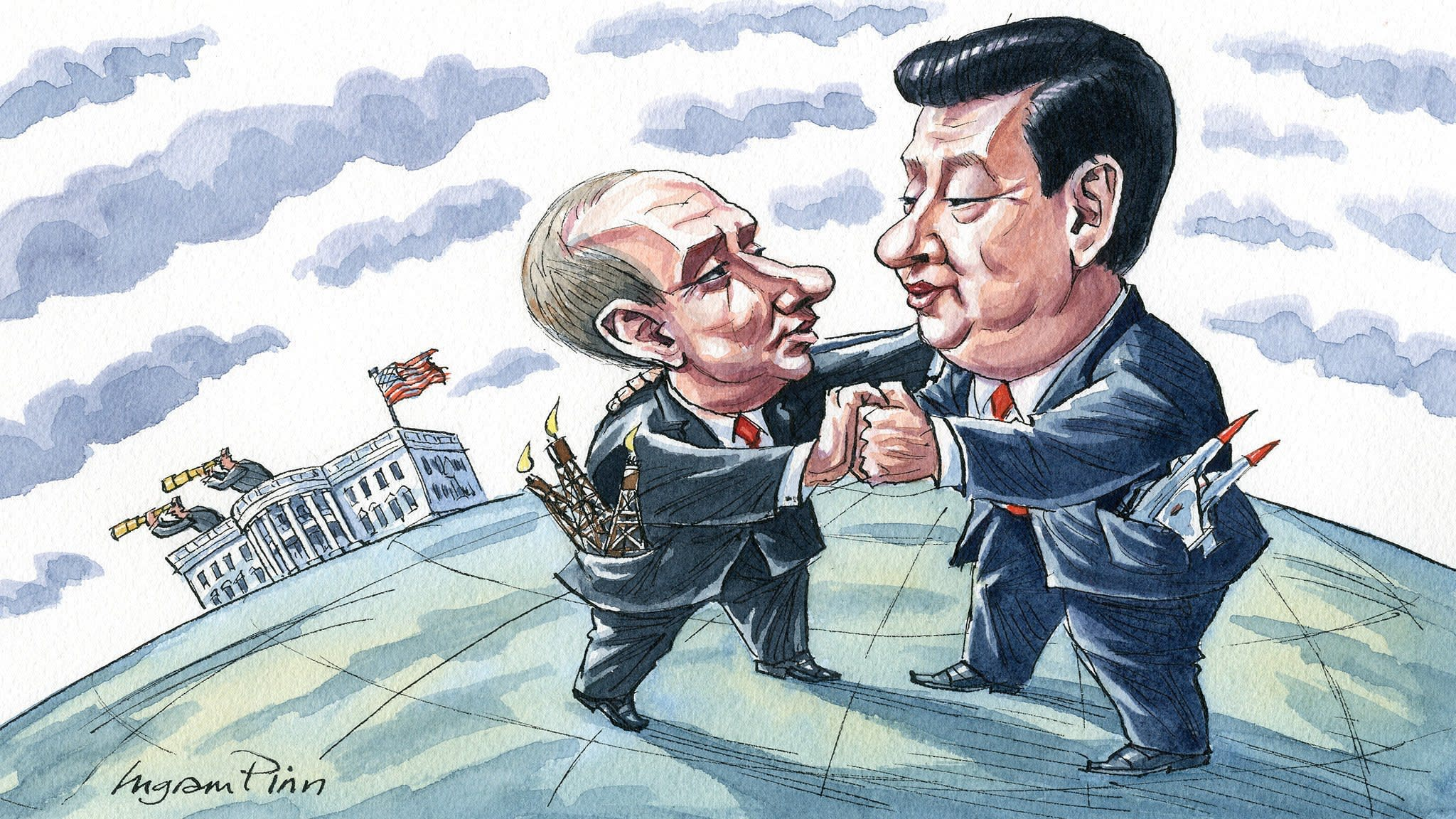 China and Russia's dangerous liaison