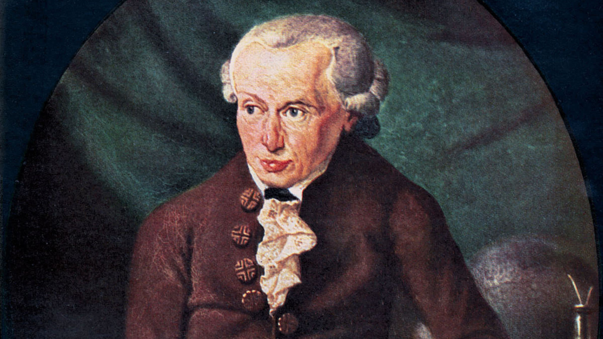 The mere thought of Kant stirs Russian nationalism
