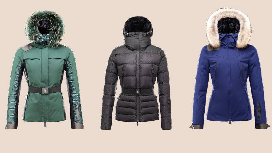 c522c318a Moncler skiwear is put through its paces | Financial Times