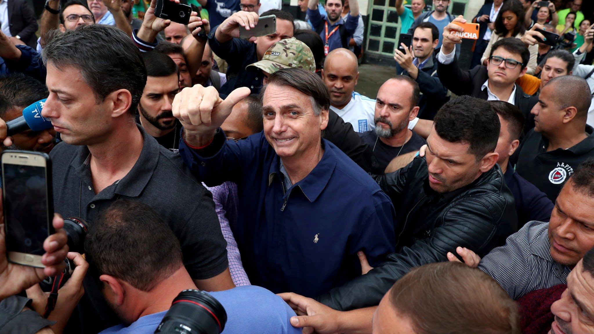 Who is Jair Bolsanaro? Five key facts about Brazil's far-right frontrunner