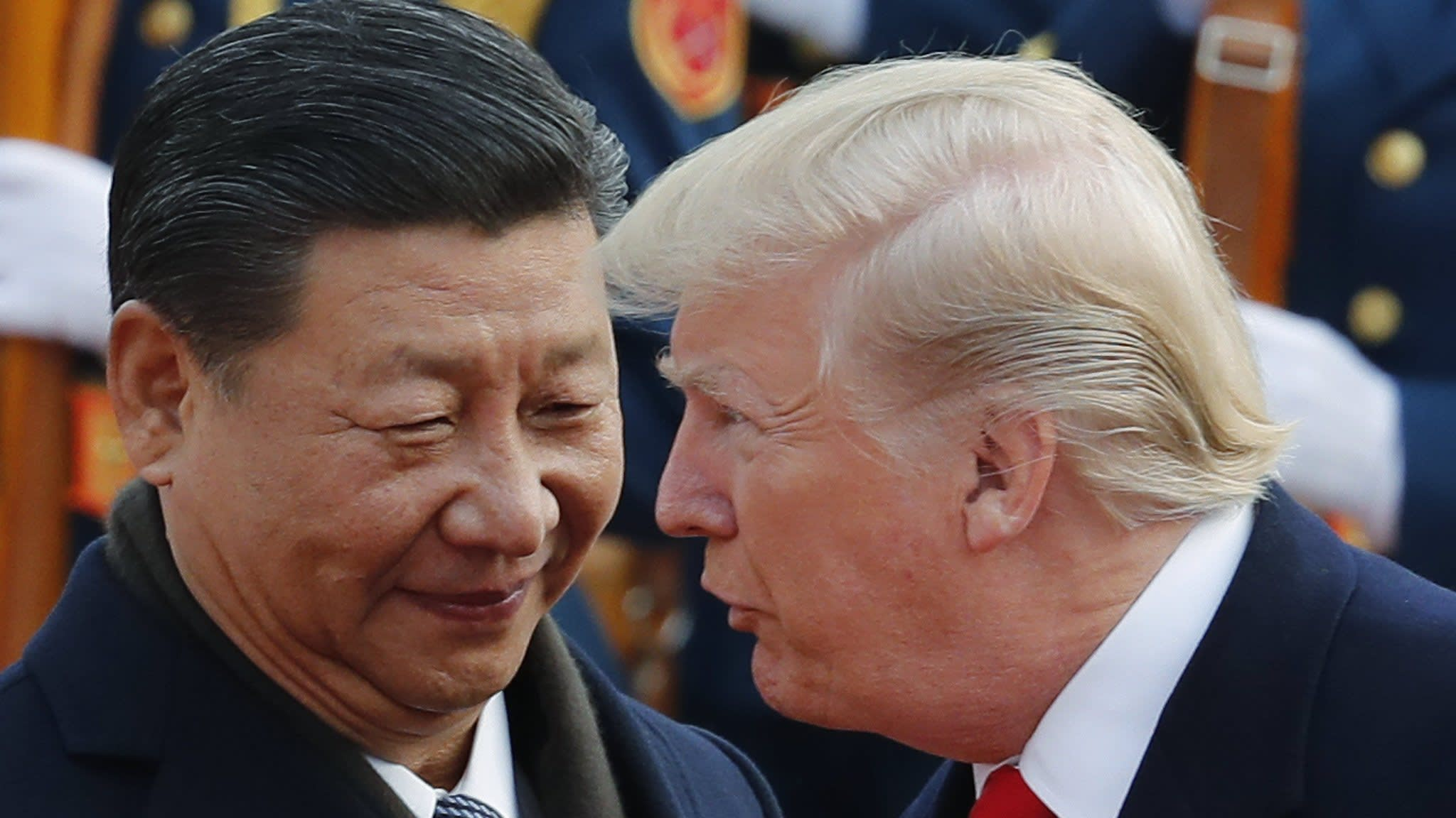 Trump zeroes in on China after trade truce with Europe