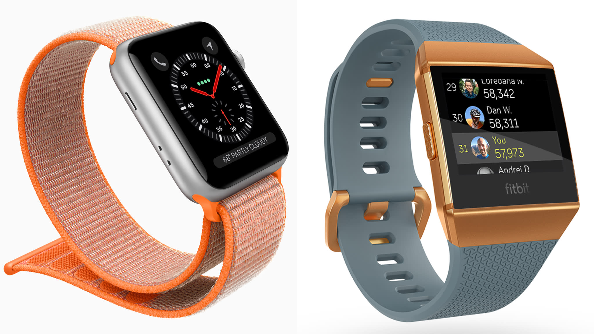 Review: Apple Watch v Fitbit Ionic   Financial Times