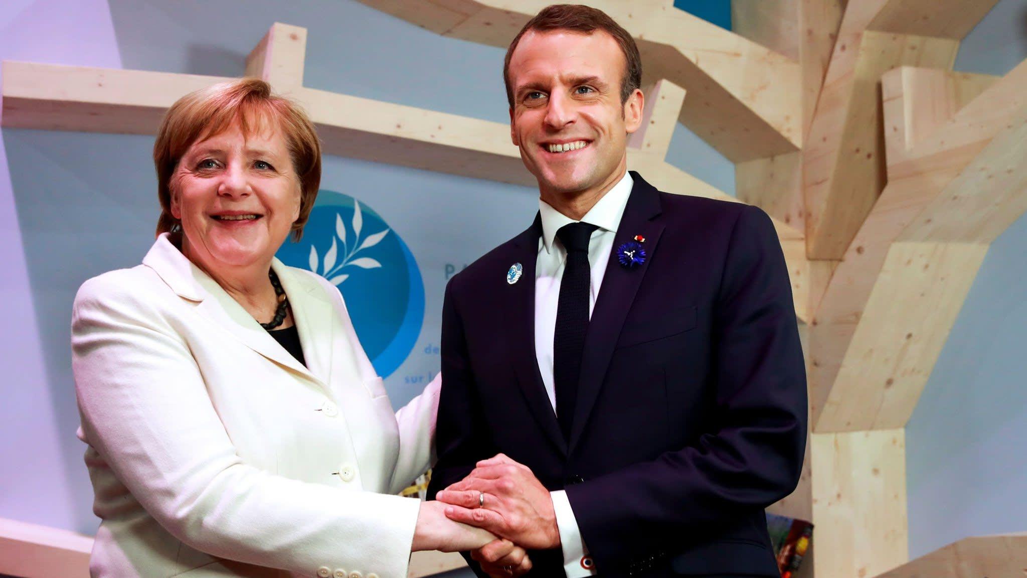 Merkel and Macron make eurozone budget breakthrough