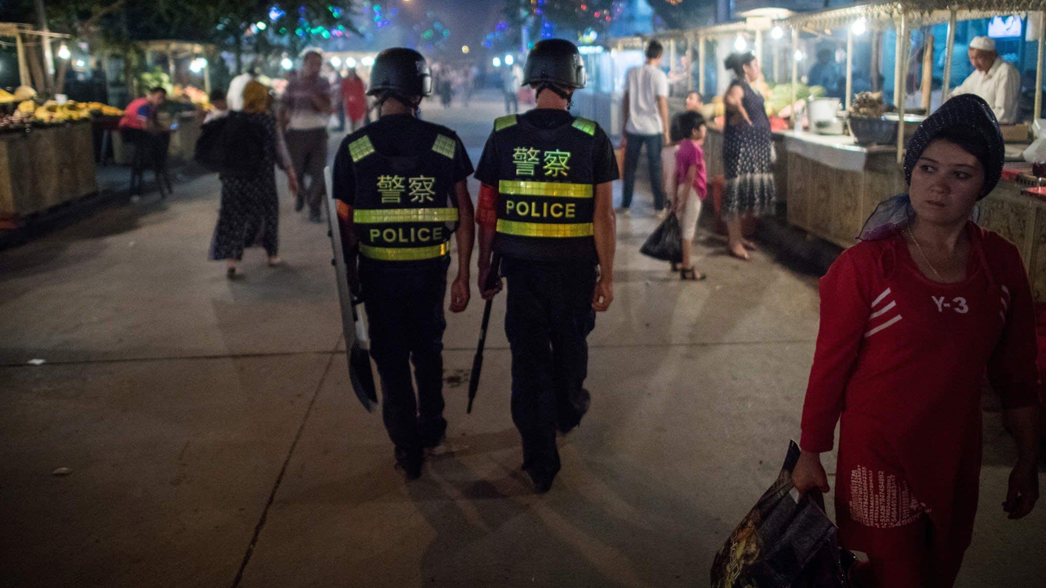 China denies UN allegations of Uighur internment centres