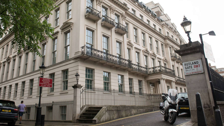 London Mansion Bought For Record Price By Chinese Tycoon Financial Times