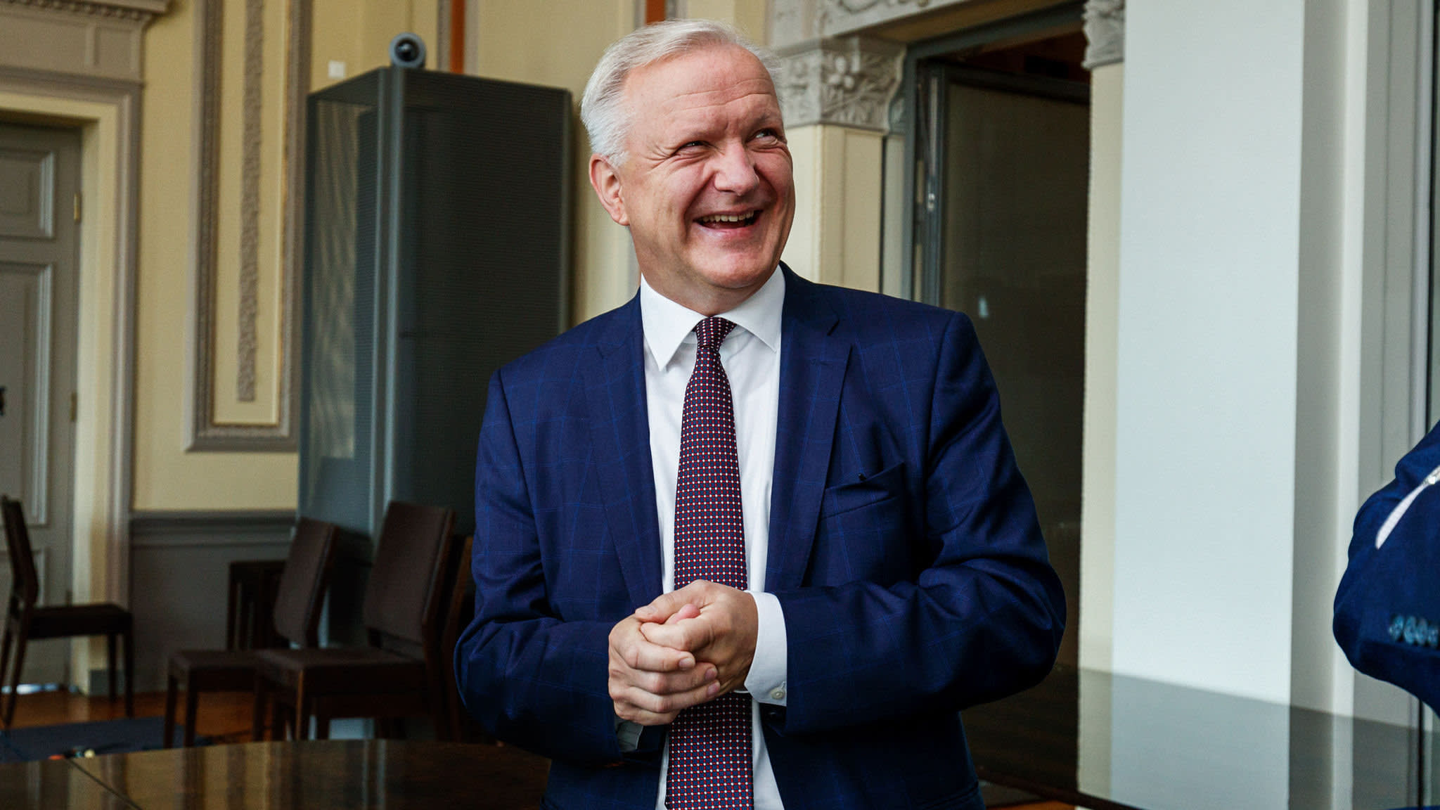 Finland's Olli Rehn brandishes credentials as ECB vacancy looms