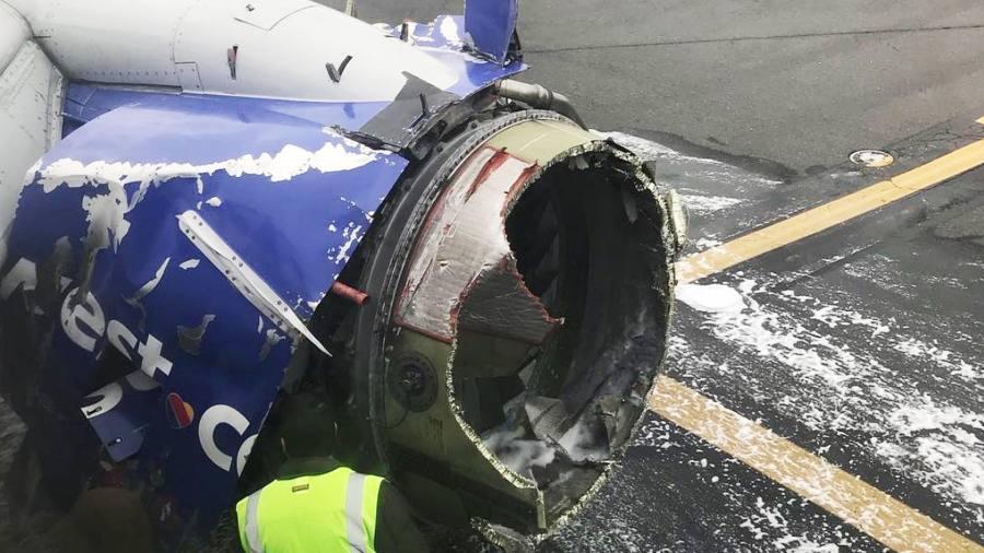 hot sales d17bb 68815 Passenger dies after engine fails on Southwest flight   Financial Times