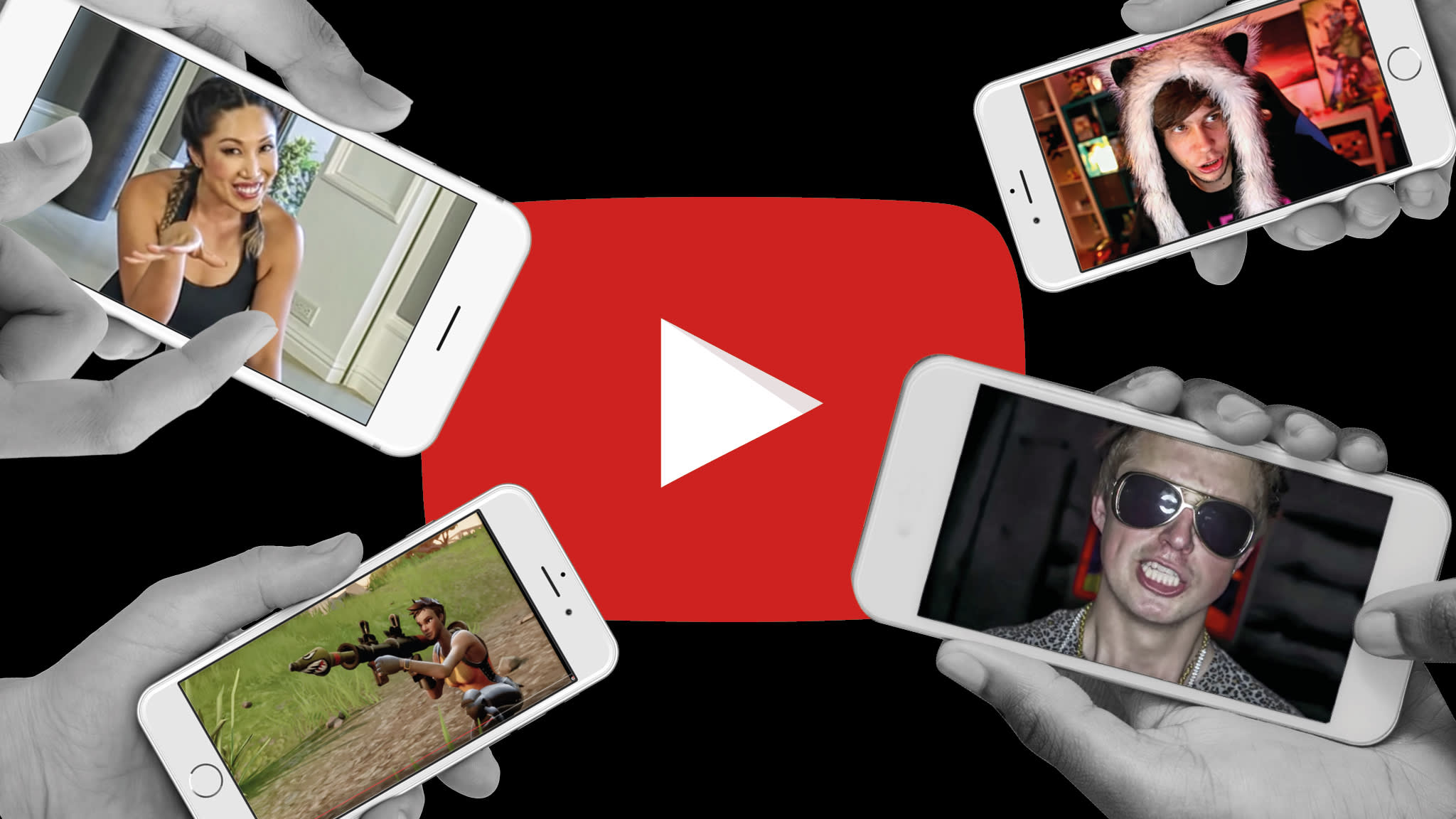 YouTube: how vloggers became the new Oprah Winfreys