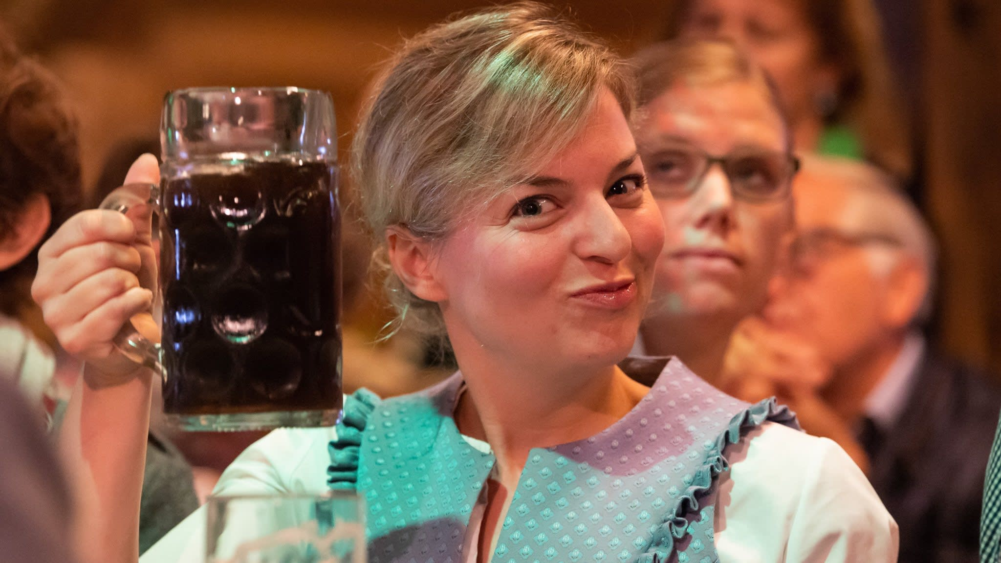Beer-loving Bavaria falls for Green party cocktail