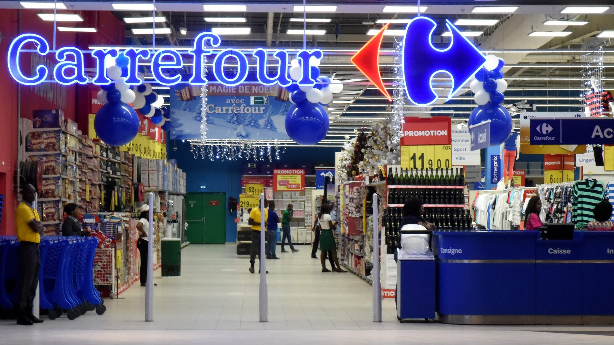 menu noel 2018 carrefour market French retailer Carrefour boosts e commerce aspirations with  menu noel 2018 carrefour market