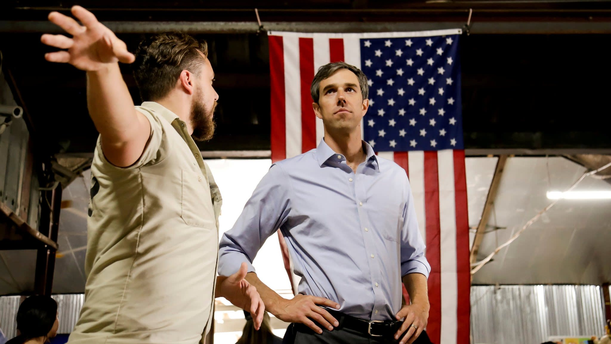 Beto O'Rourke electrifies voters as he takes on Ted Cruz in Texas