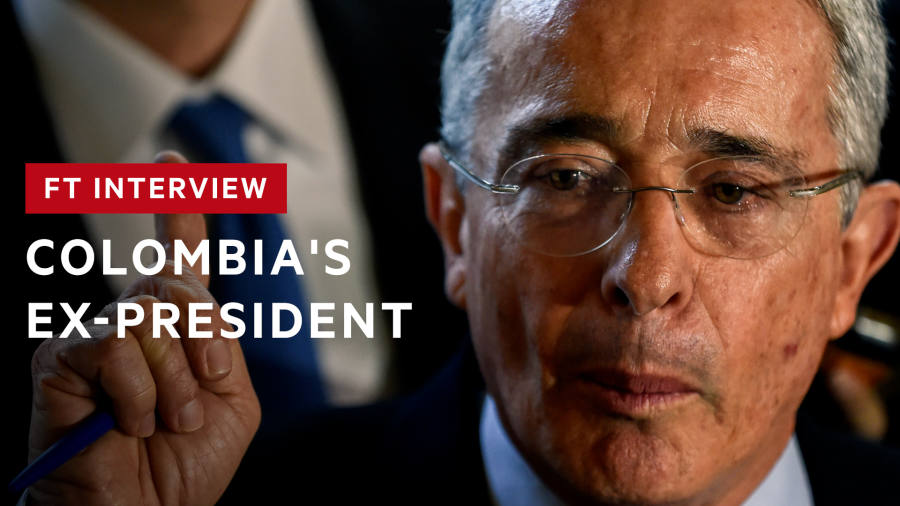 Colombia's Uribe warns on Venezuela's future: 'Tyranny has established itself' | FT Interview