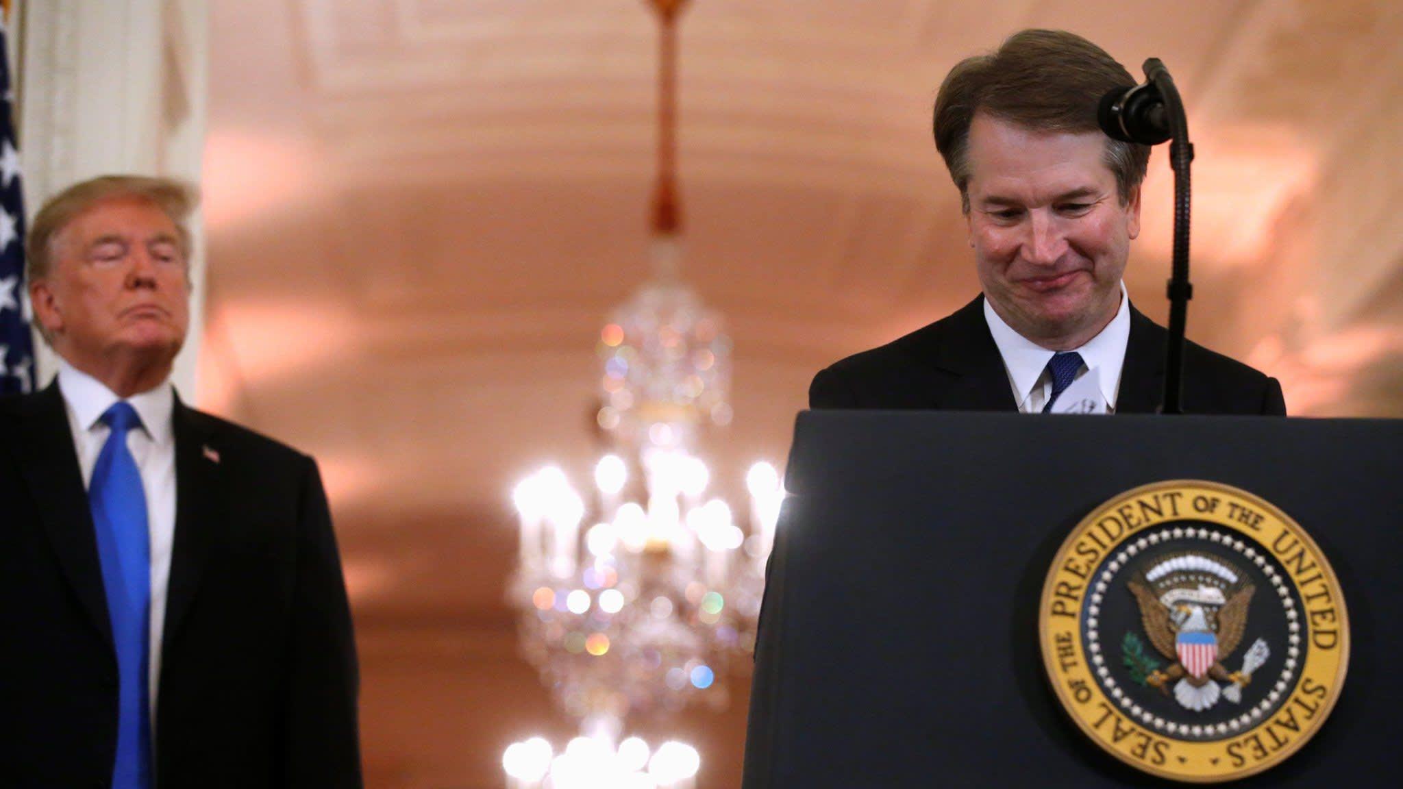 Donald Trump's court pick is a Republican stalwart