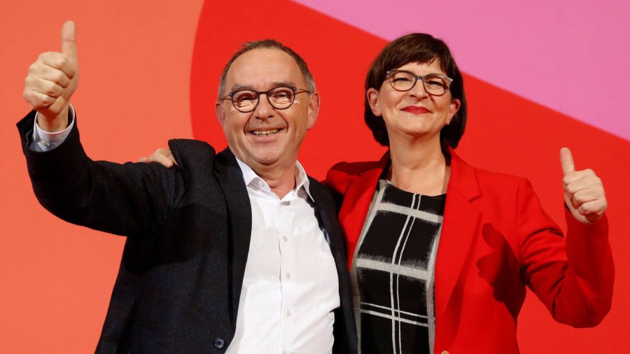 Germany's ruling coalition shaken by new SPD election