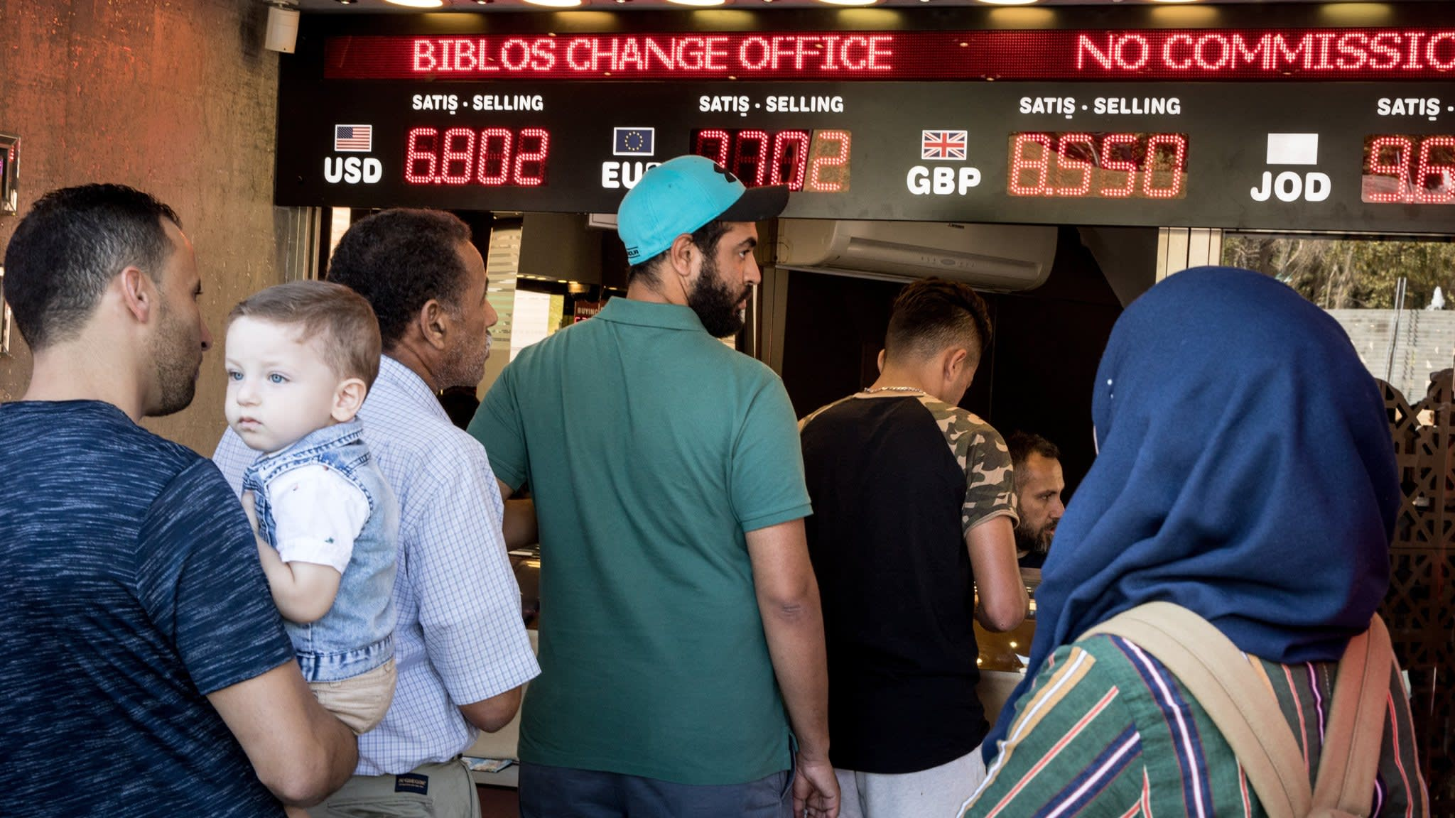 Turkish business feels the pain of currency crisis