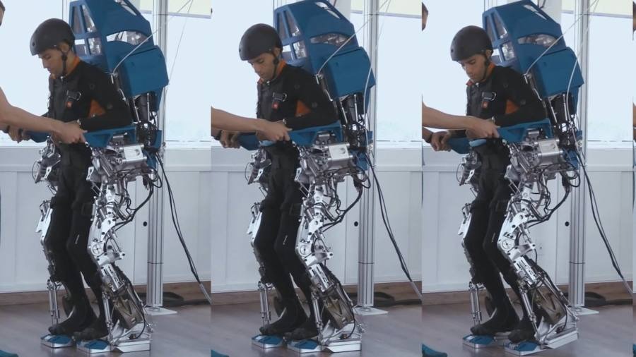 Robotics and VR help heal spinal injuries