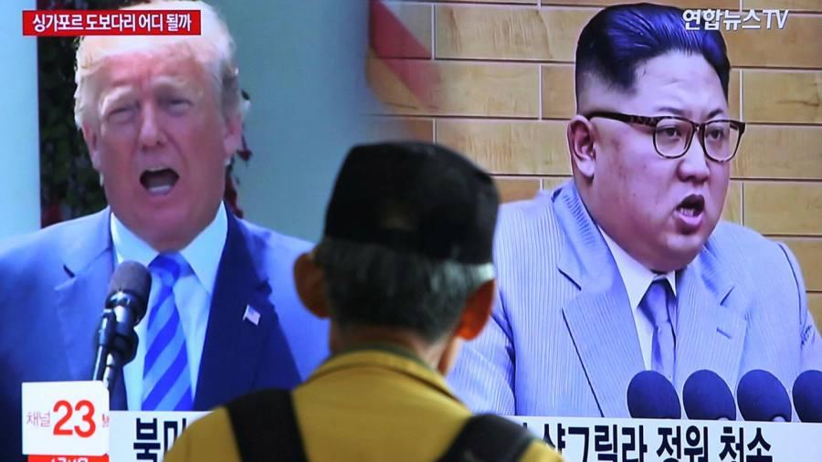 Trump adds veiled threat to N Korea reassurance