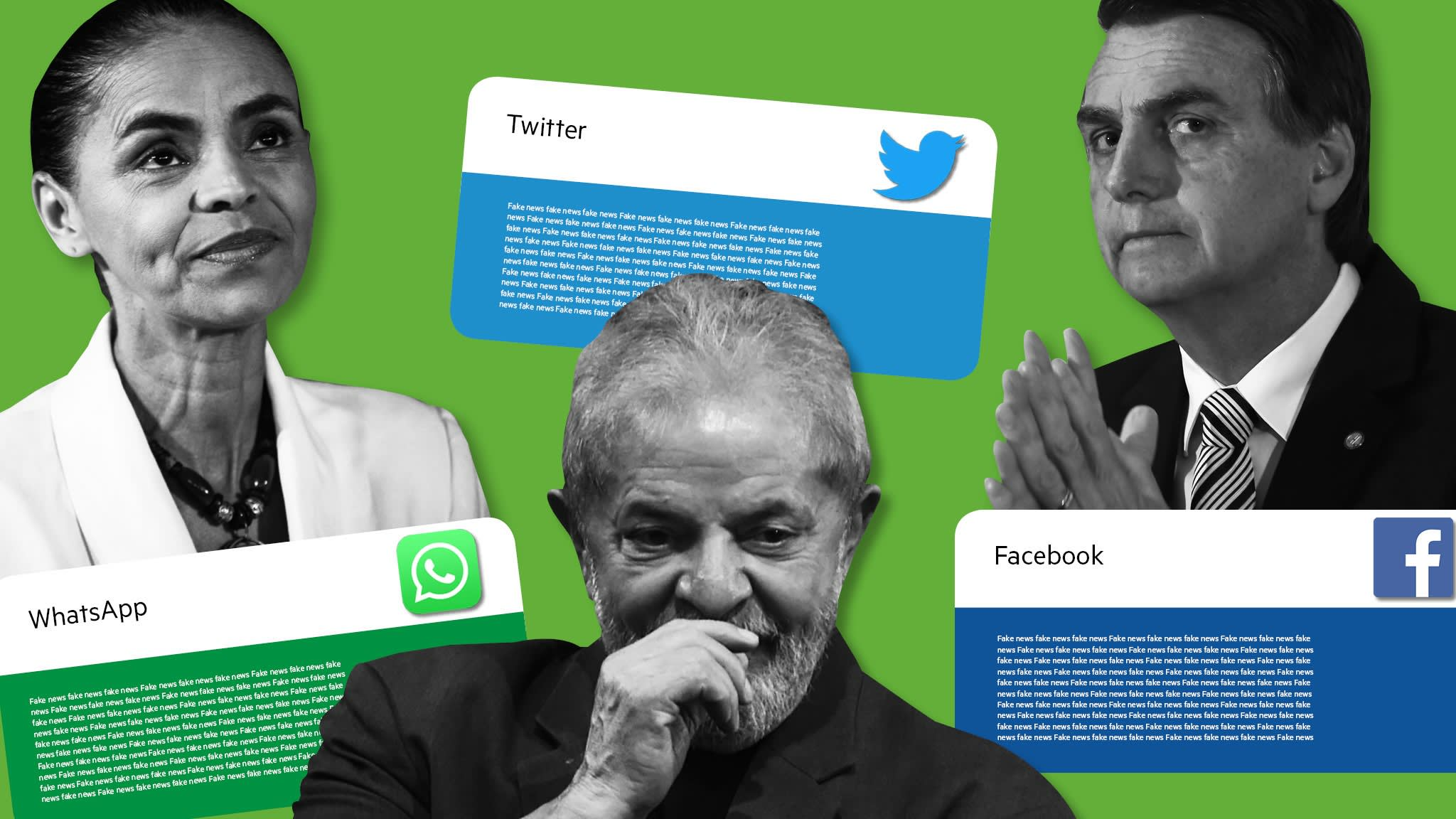 Fake news threat looms over Brazilian election