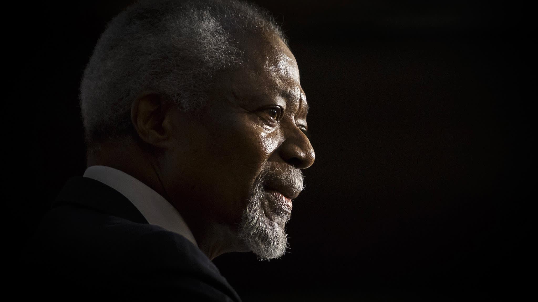 Kofi Annan — a life in pictures
