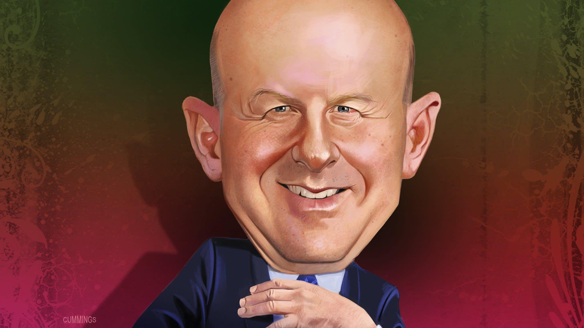 David Solomon, a smart operator prevails at Goldman Sachs