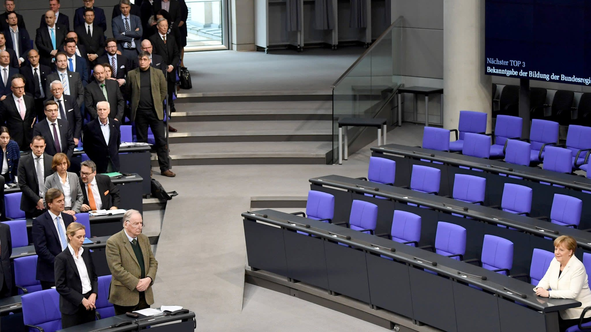 AfD bloc turns up the heat in Germany's Bundestag
