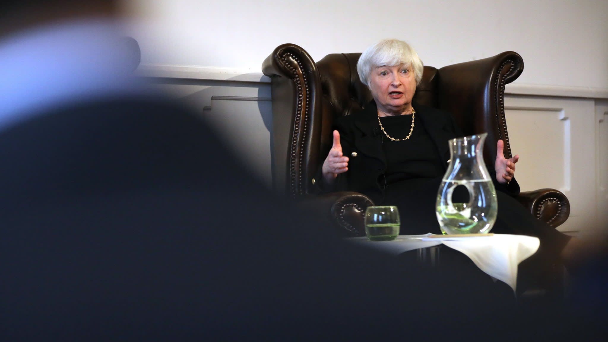 Janet Yellen calls for US carbon tax to curb climate change